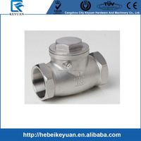 PN16 casting stainless steel full opening swing check valve 2