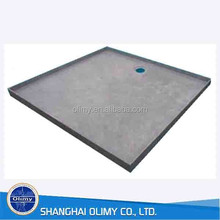 Fiberglass tile ready shower tray