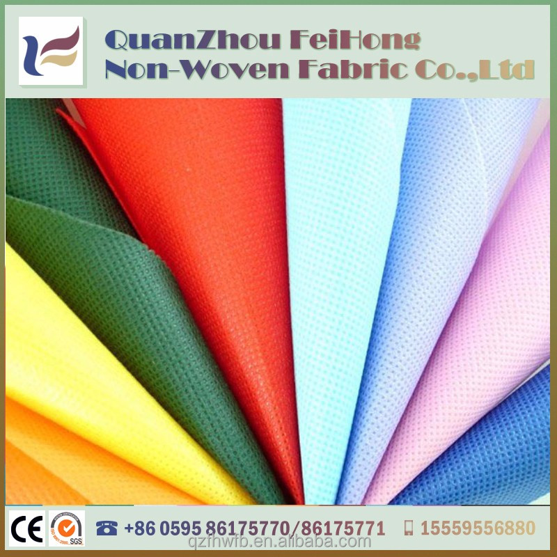 custom make coloful spunpond 100%pp non woven flower wrapping paper