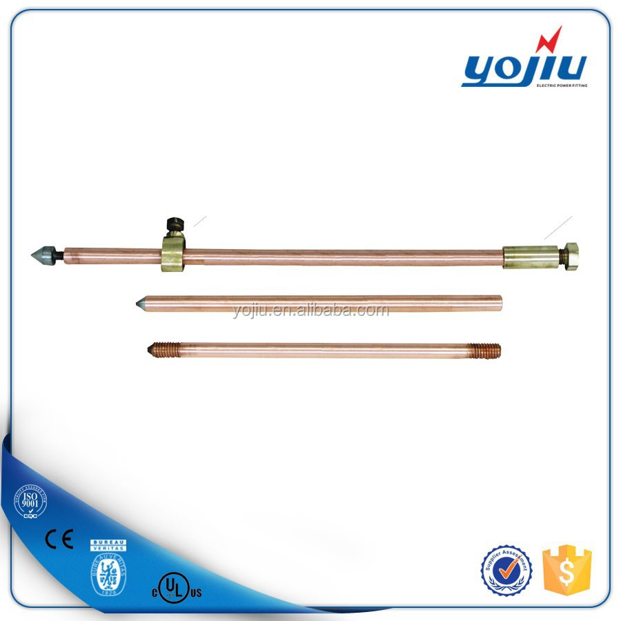 Electric High Quality Hot Selling Copper Clad Earth Rod with Competitive Price/copper earth rod