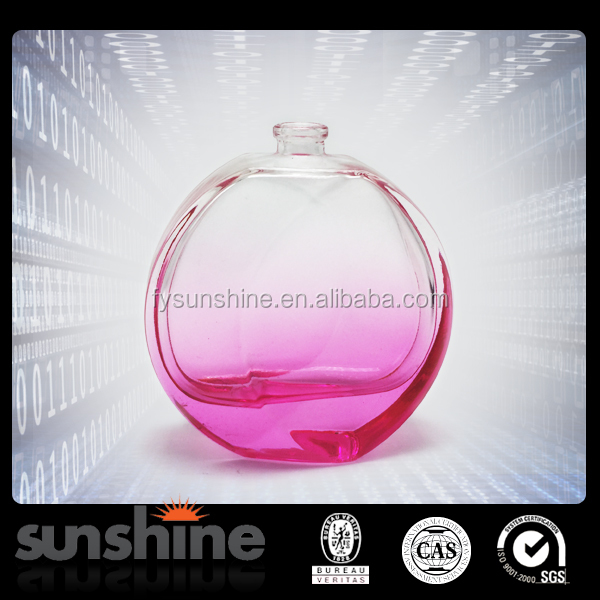 2016 Hot selling SP008 100ml perfume glass round bottle for sale