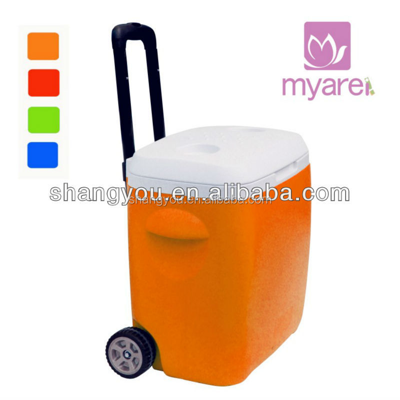 18L portable cooler with handle