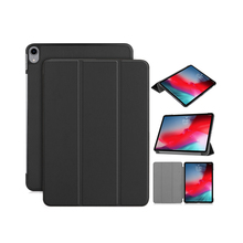 Smart flip leather tablet cover case for apple ipad pro 11