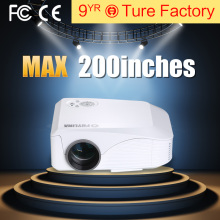 HD 3d Led Android Wifi Projector Native 800*480 1800 Lumens Full HD Projector Support 1080P With HDMI Input