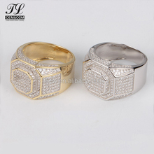 Quality bling 92.5 silver diamond ring band+jewellery dropshipping