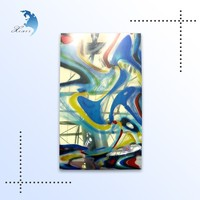 Custom design colored pattern stained glass for window display