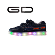 GD cute kids leisure lighting shoes LED USB charge shoes