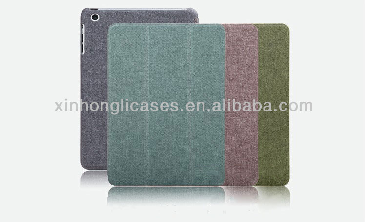 new arrival belt clip case for ipad mini Slim Smart Case Cover Skin accessories for iPad mini Sleep/Wake