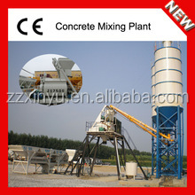 Best Hopper Lift Type Concrete Mixing and Batching Plant HZS35 for Sale