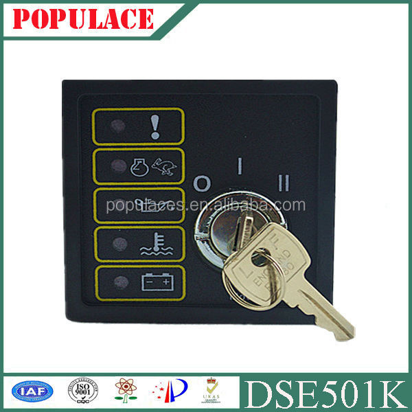 engine start control DSE 501k Compatible deep sea engine diesel Generator control panel