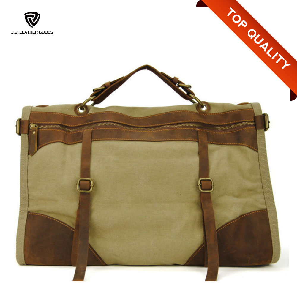 Men Tote Bag/Briefcase Tote Bag/Canvas Tote Bag With Outside Pockets