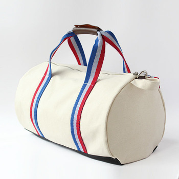 Original canvas duffle with leather trim kind workmanship Since 1997