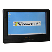Desktops Industrial PC Embedded Computer with 8 inch 4-wire Resistive Touchscreen