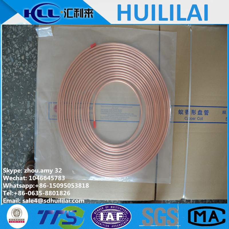0.026 inch Refrigeration copper pipe/tube/capillary