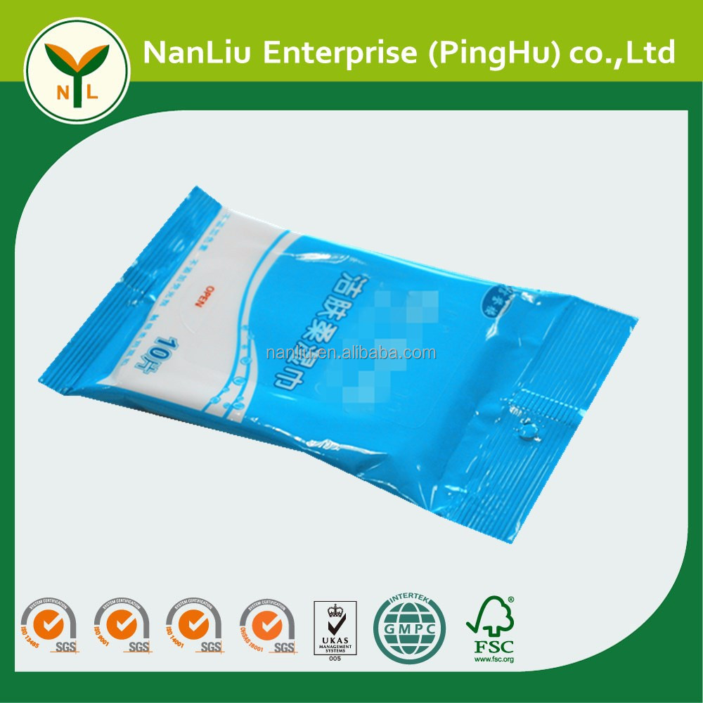 Hot selling multi-purpose custom restaurant cleaning wet wipes