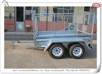 3 way tipping trailer /car tipping trailer