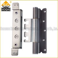 180 degree SS heavy duty 3D adjustable armored door hinge
