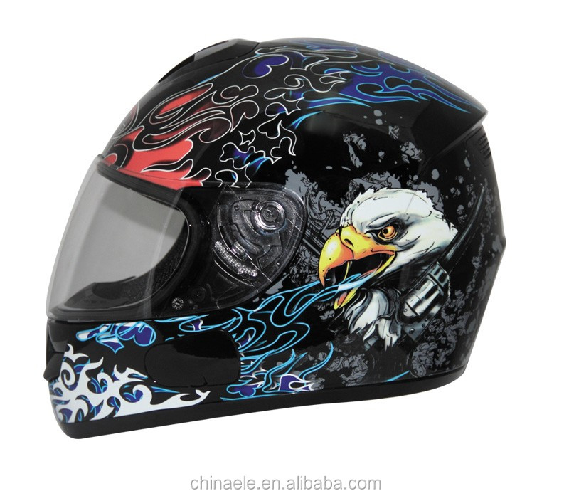 High quality ECE certificate Full face helmet