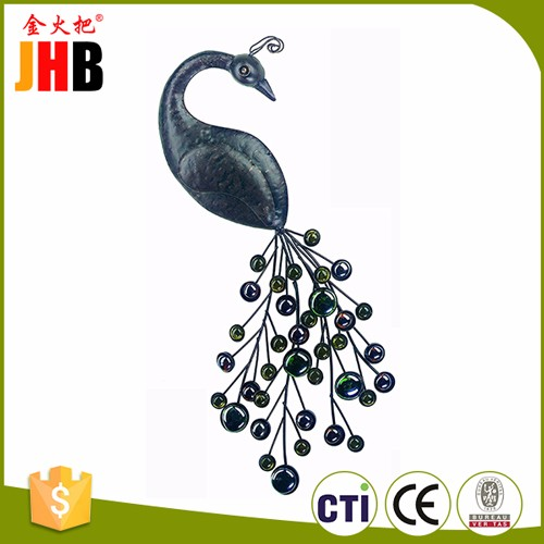 New Design Metal Peacock Wall Decor for Home Decor Gifts