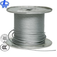 Steel wire ropes for lifts or elevators