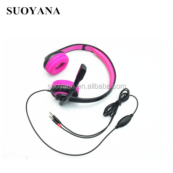 small headphones with microphone for children