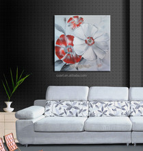 100% Handmade Beautiful Orchid Peony Flower Oil Painting