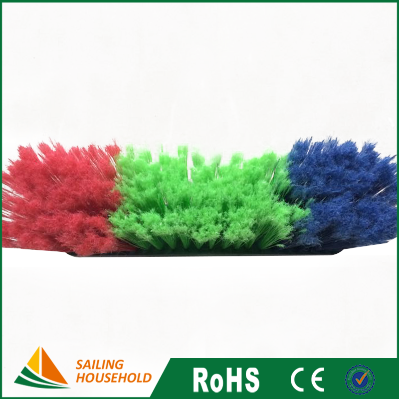 OEM plastic broom, large soft broom with handle, home broom