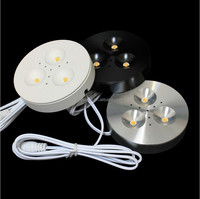 RD15 3W Dimmable LED Puck Light