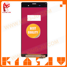with low price protective LCD screen for Sony Z3 No Dead Pixel Front Glass Digitizer