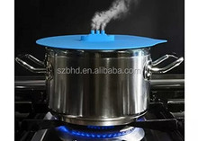 New Premium Silicone Pot Cover/Silicone Pot Lid/Silicone Steam Lid