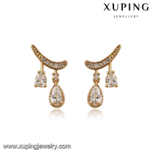 93257-alloy jewelry manufacturer 18k gold earrings wholesale earrings in malaysia