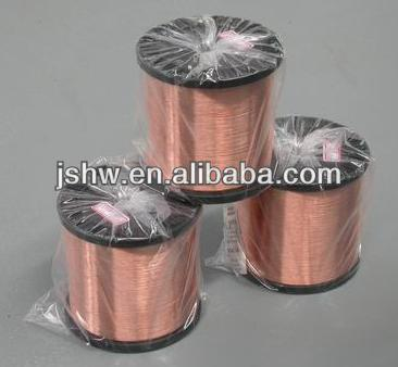 Copper clad CCAM for flexible cable