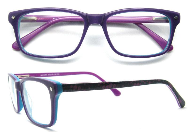 Estilo moderno resistente vidrio gafas marco transparente Marco de ...