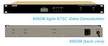 DRACOM 806DM Agile NTSC Video Demodulator