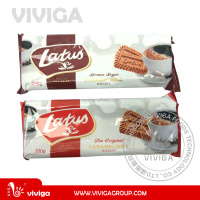 200g Lotus nutritional value of biscuits, diet biscuit with caramel
