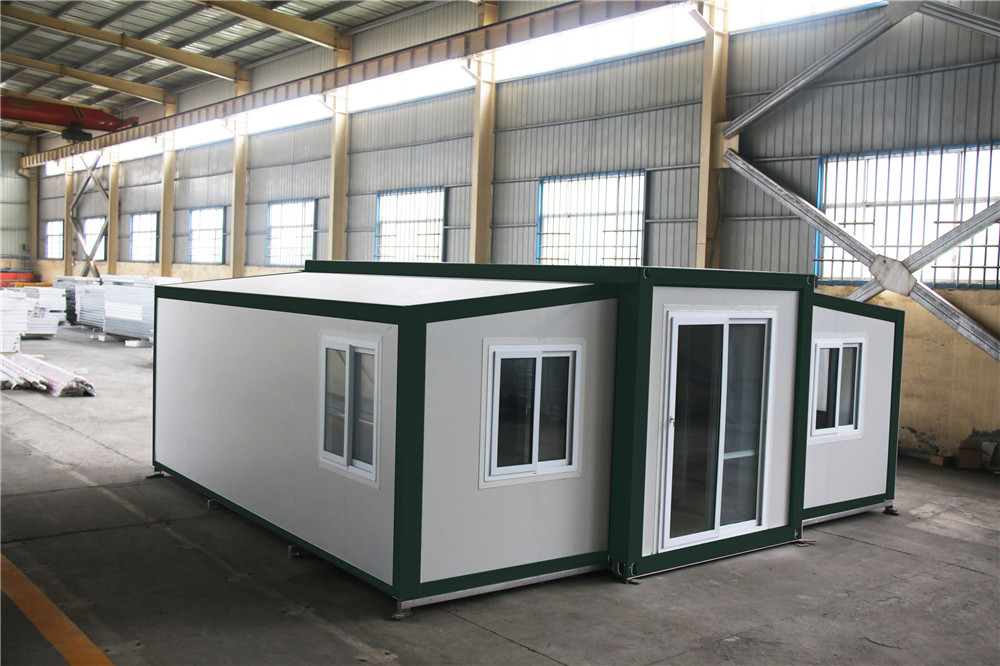 Modern Durable Kiosk  prefabricated modular low cost prefab folding container house