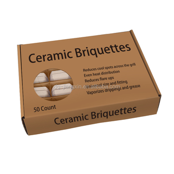 Ceramic Briquettes for gas braais bbqs