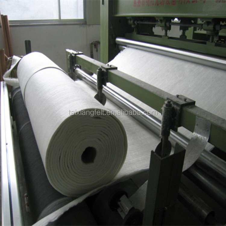 Wool fiber needle punched Nonwoven felts