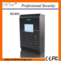 Good quality TCP/IP communication SC403 ID /IC card access control and time attendance.