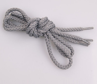 2014 promotional sales waxed cotton round shoelaces