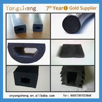 shower door bottom rubber seal strip/rubber bumper strip