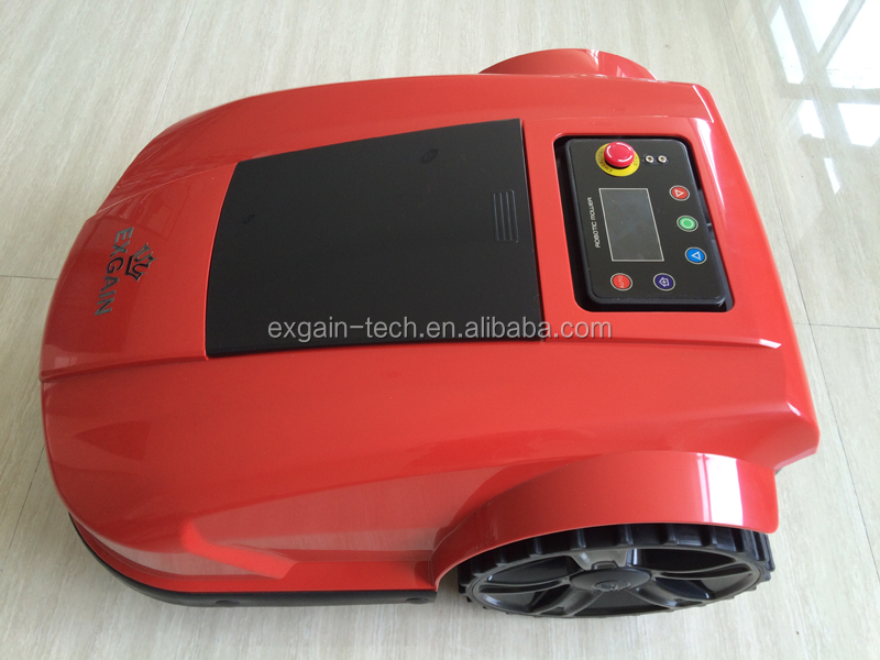 friendly robot electric lawnmower S520 with humanized navigation screen