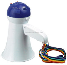 toy gift mini speaker megaphone with music+record+volume control