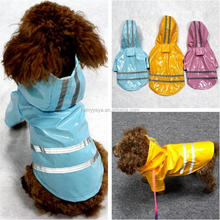 Waterproof Pet Dog Clothes Puppy Raincoat for Small Dog Jacket Hoody Overcoat Fashion Pet Cat Apparel Roupas para Perro