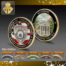 Hard Enamel Metal coin with custom design