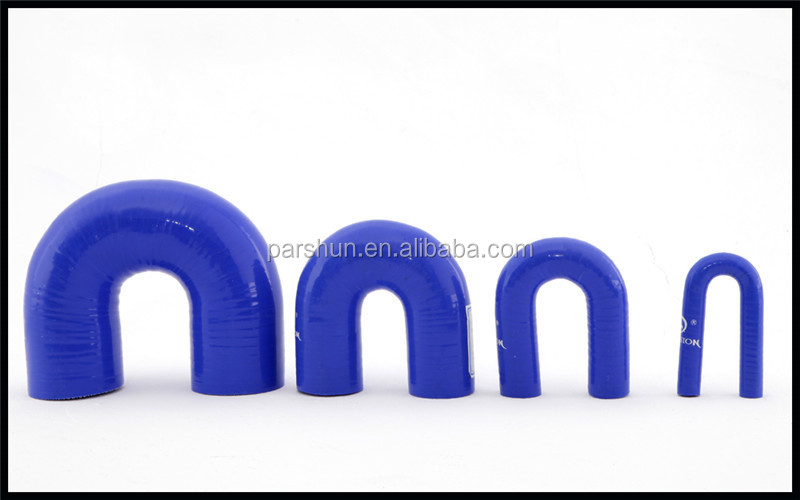 Flexible 38mm 180 Degree Bend Silicone Hose for Intercooler
