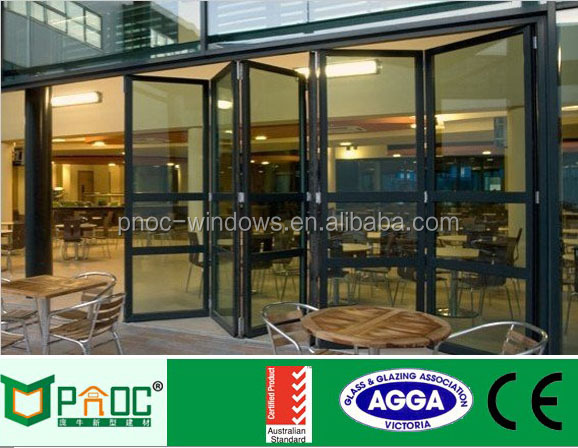 Double Glass Partition Folding Exterior French Doors For Restaurant   Buy Folding  Exterior French Doors,Folding Exterior French Doors,Folding Exterior ...