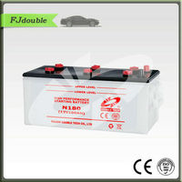 better N180 DRY CHARGED CAR BATTERY PRICE 12V 180AH
