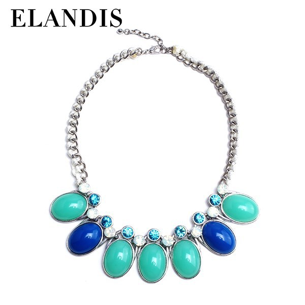 E-ELANDIS top selling products handmade statement rope latest design beads necklace