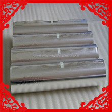 plain aluminum foil paper / kitchen foil paper aluminumie foil roll food package use
